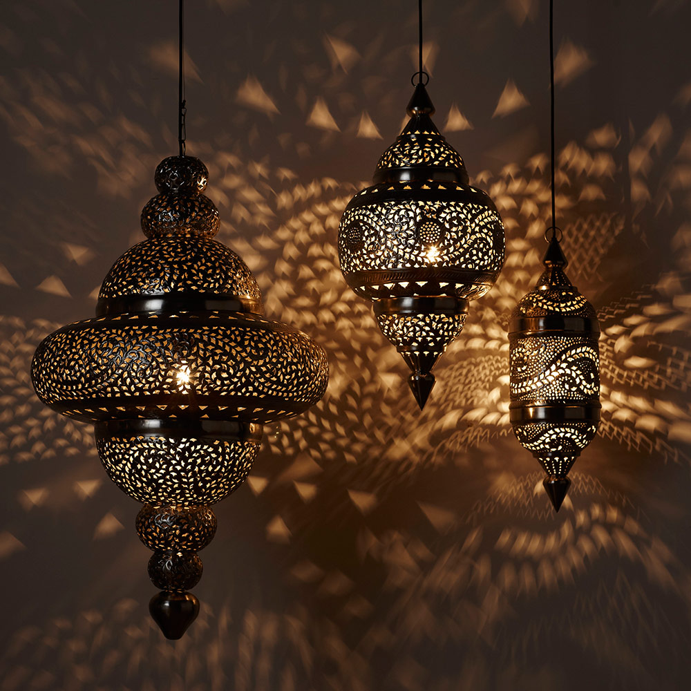 Get Moroccan Lamps To Bring The Oriental Magic To Your