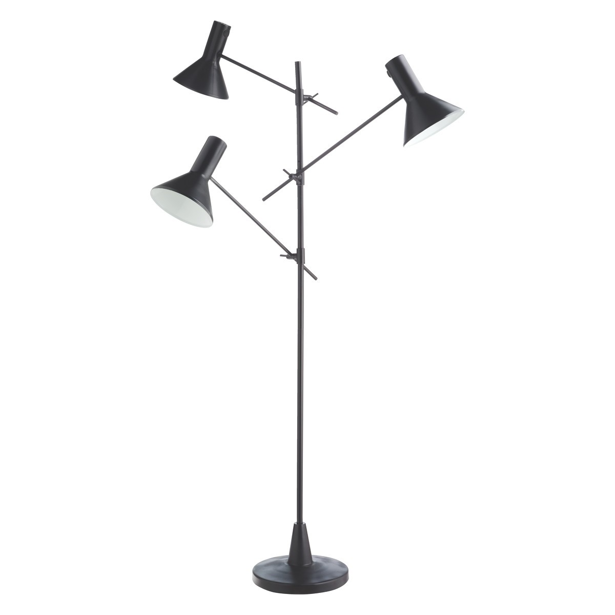 Decorate home with multi head floor lamp to add a glimpse of ...