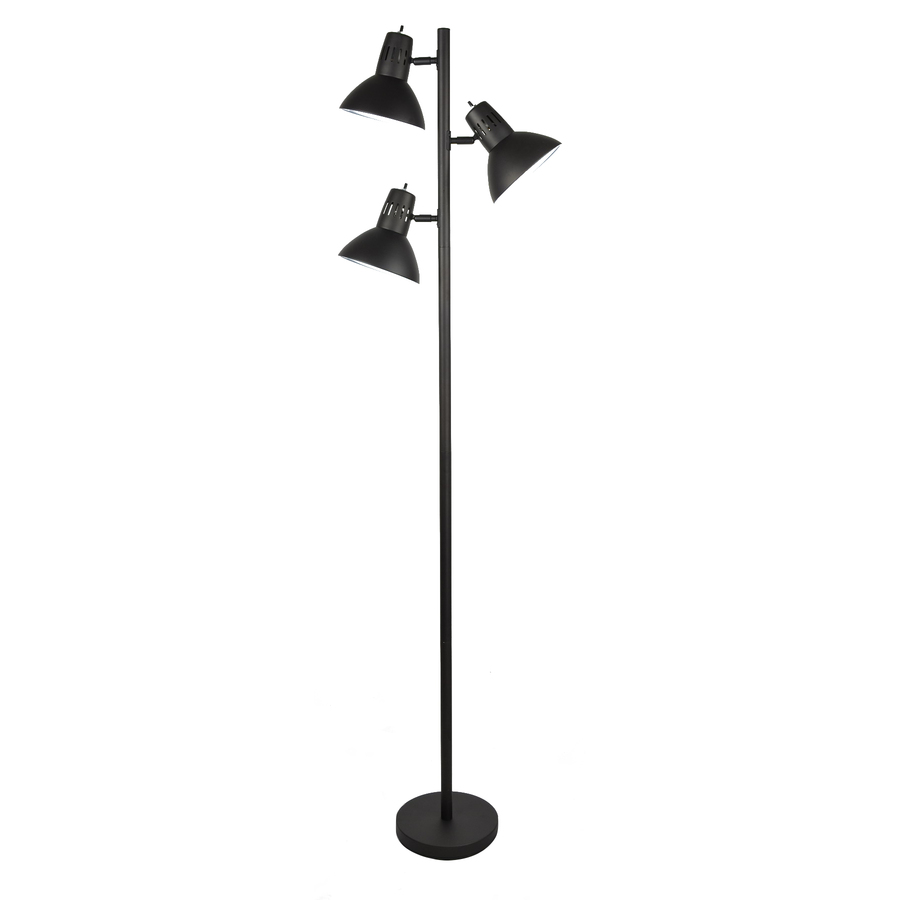 Decorate home with multi head floor lamp to add a glimpse for Multi led floor lamp