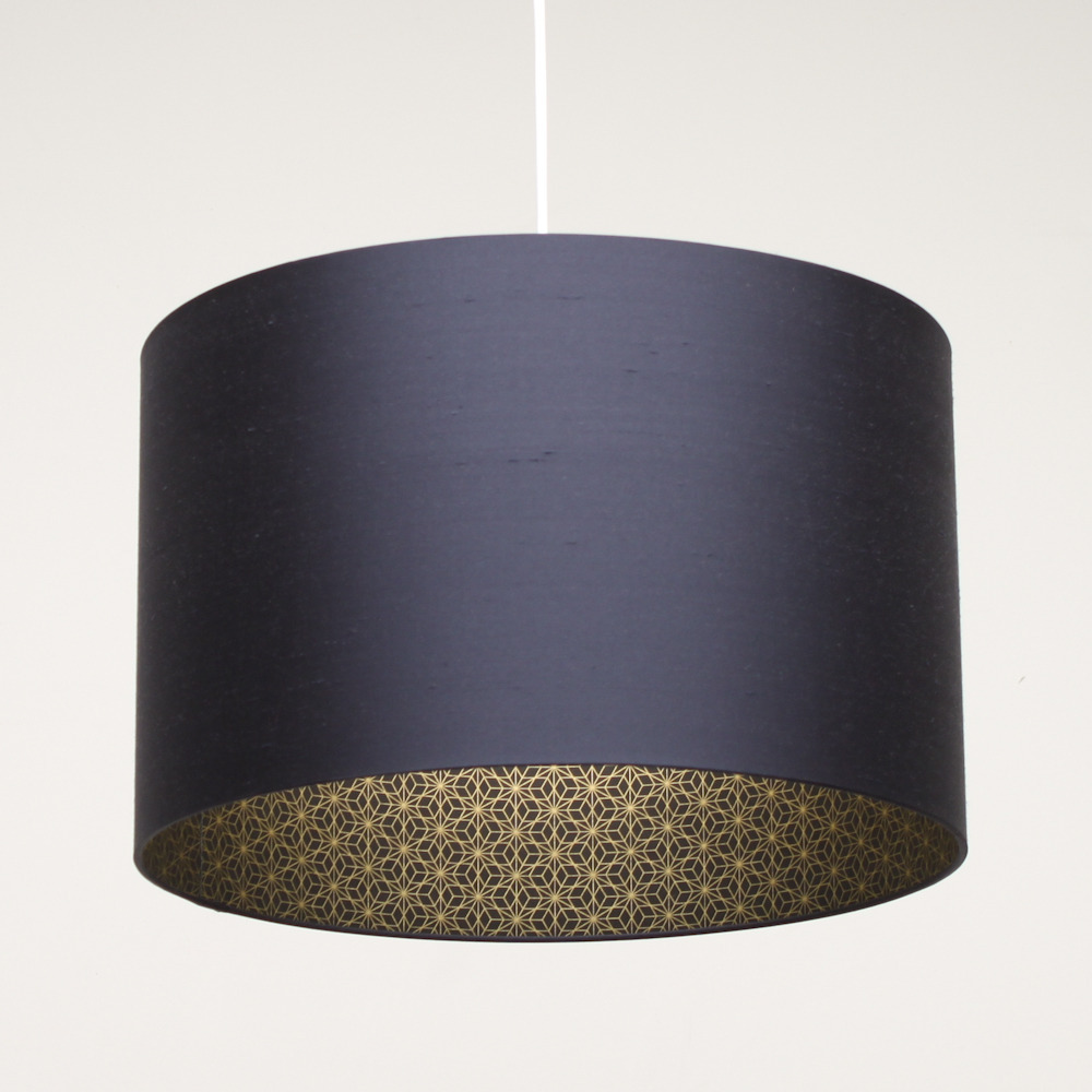 Large Blue Lamp Shade: Beautify Your Room With Navy Blue Lamps