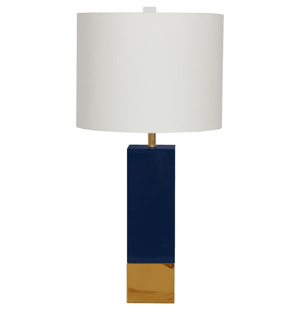 Choose navy blue table lamps if looking for beaty in your home how to choose navy blue table lamps geotapseo Images