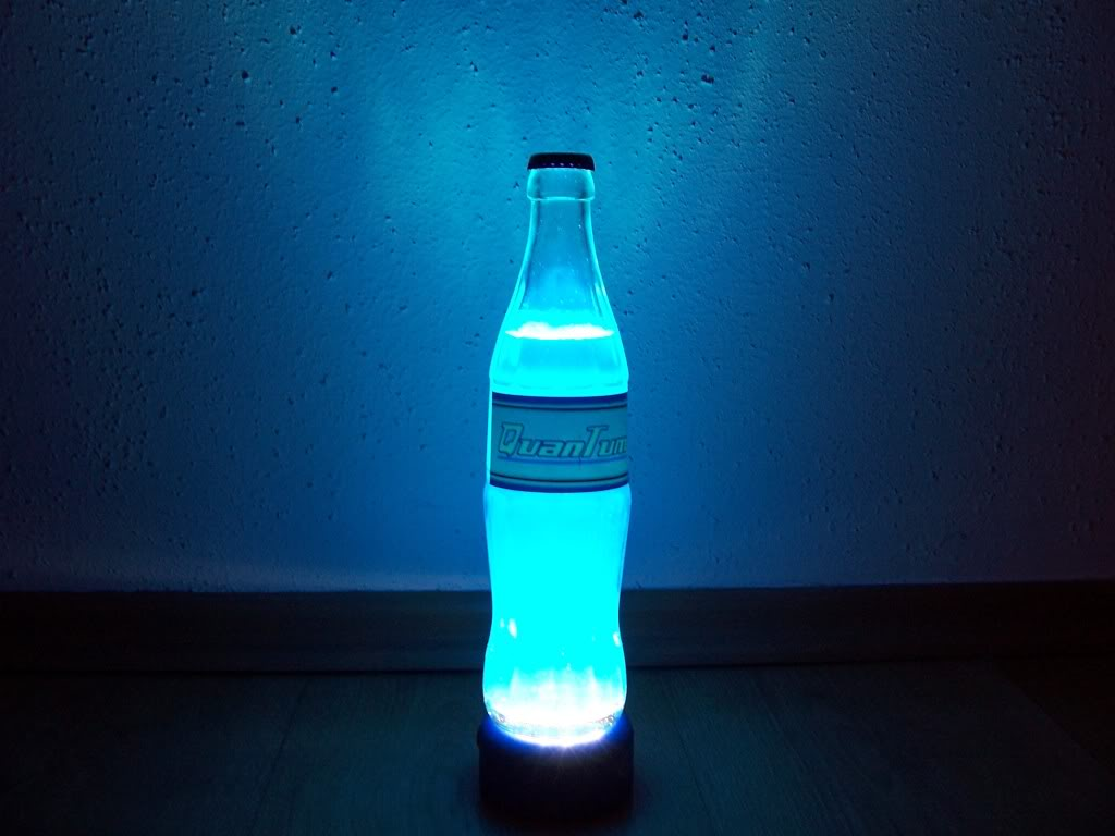 Discover The Elegance Of Light In Nuka Cola Quantum Lamp
