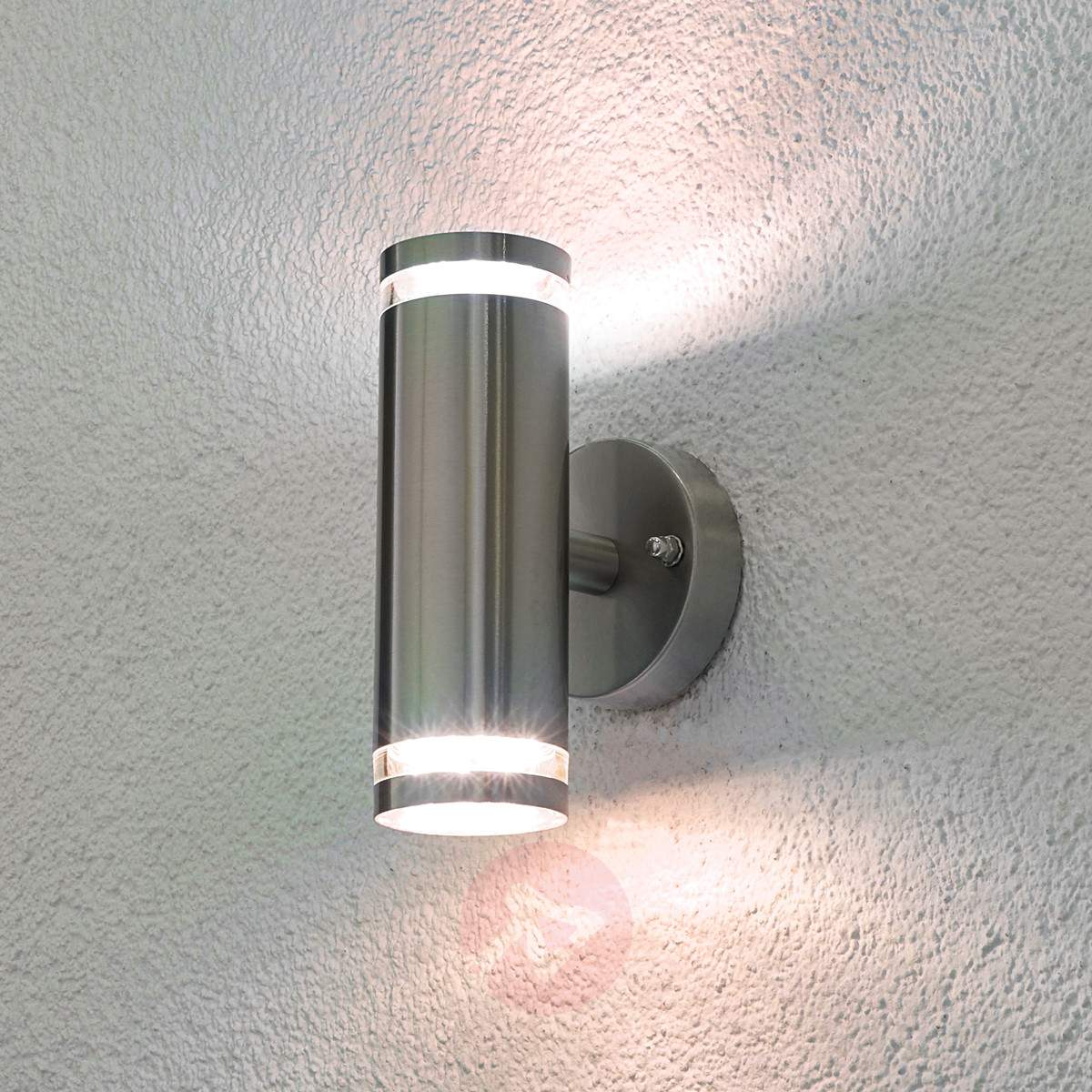 How To Fit Outdoor Wall Lights : Outdoor led wall lights - 10 reasons to install Warisan Lighting