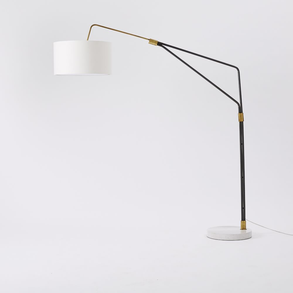 Overarching floor lamps 10 complements to your home warisan lighting the final selection of courses depends on the chosen plan in that room and how the lamp design is to compliment overarching floor aloadofball Choice Image
