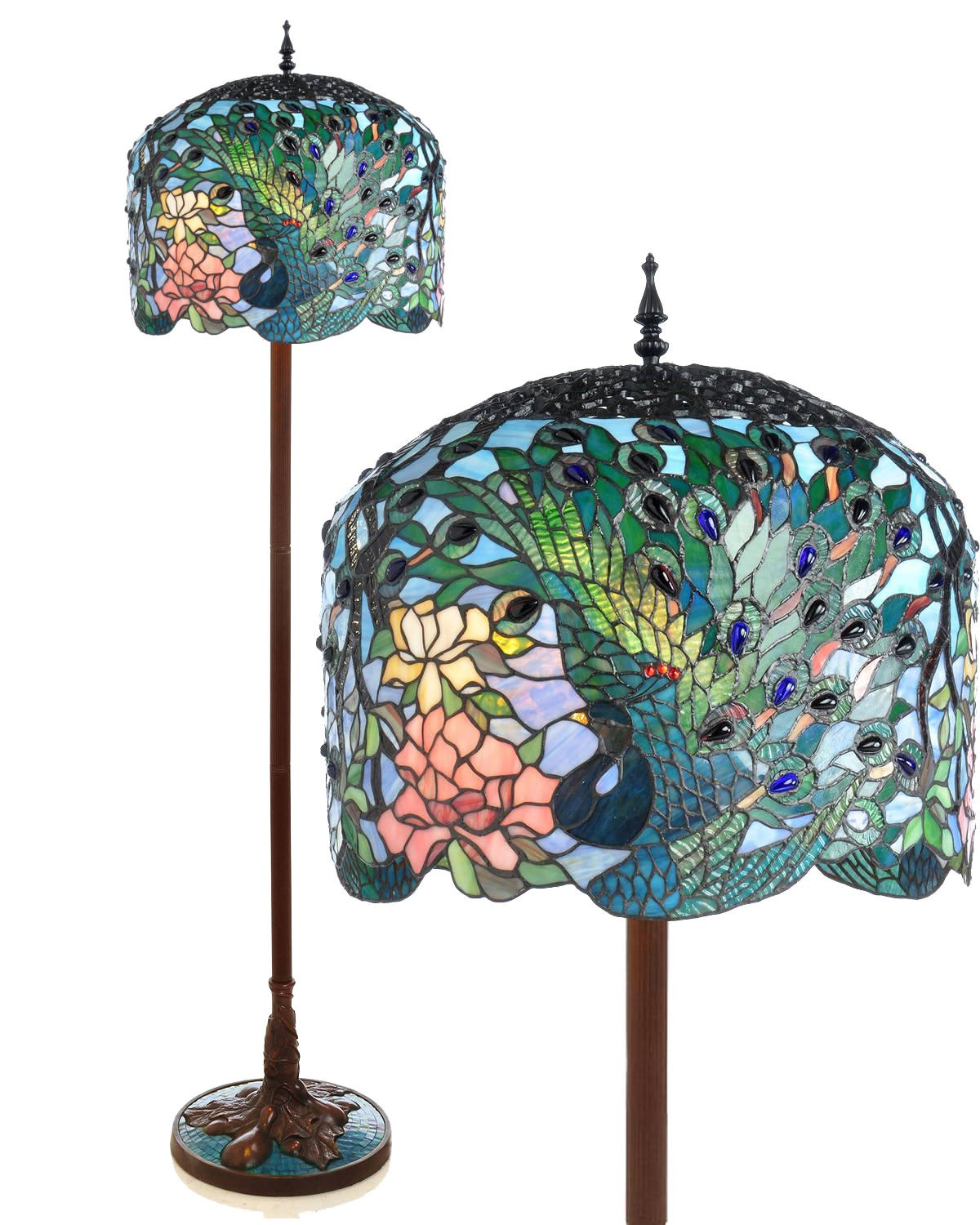 ... Glass Art In Your Home Pea Floor Lamp ...