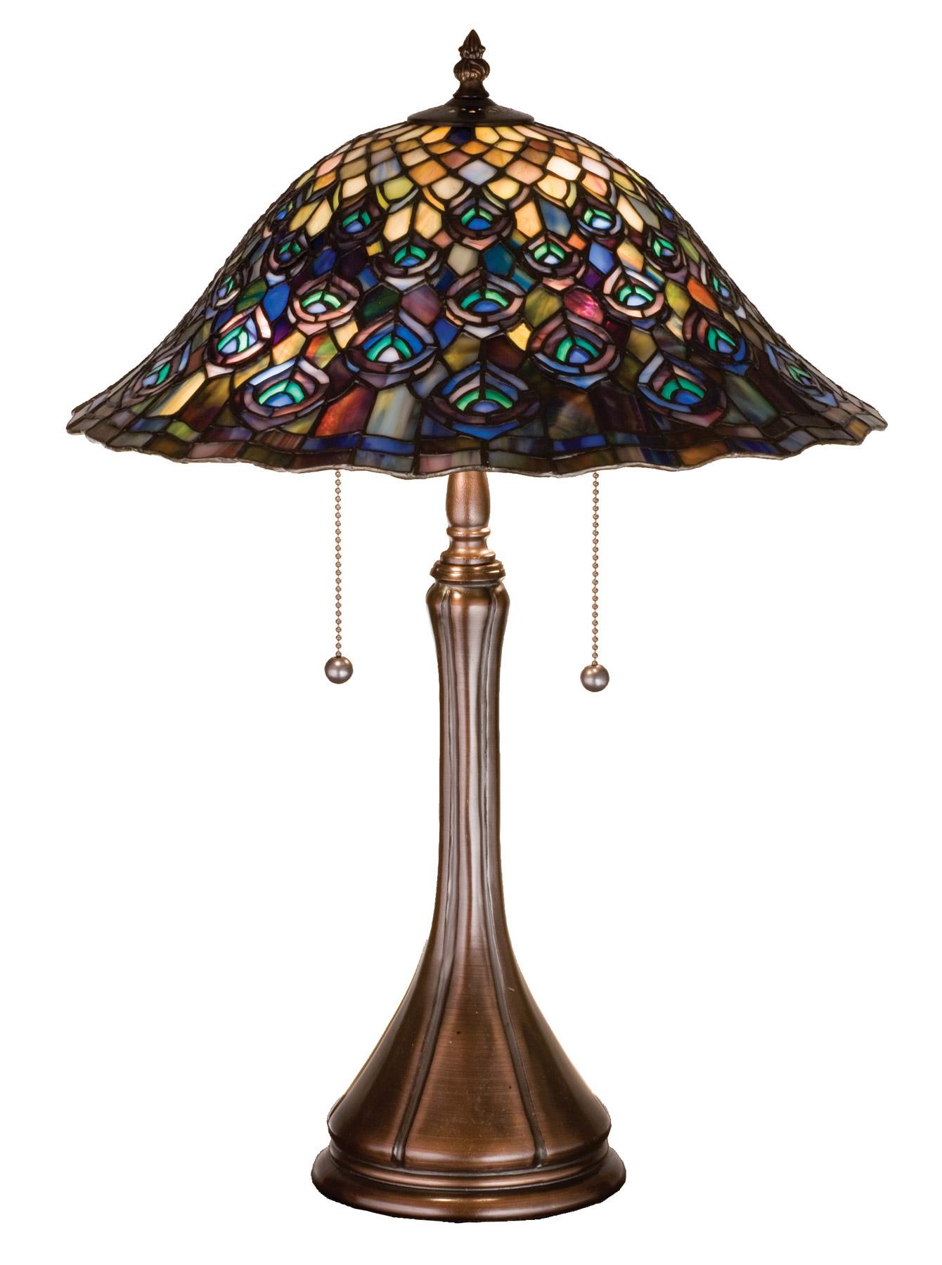 Own a peacock tiffany lamp for a beautiful home decor warisan lighting geometric peacock tiffany lamps arubaitofo Gallery
