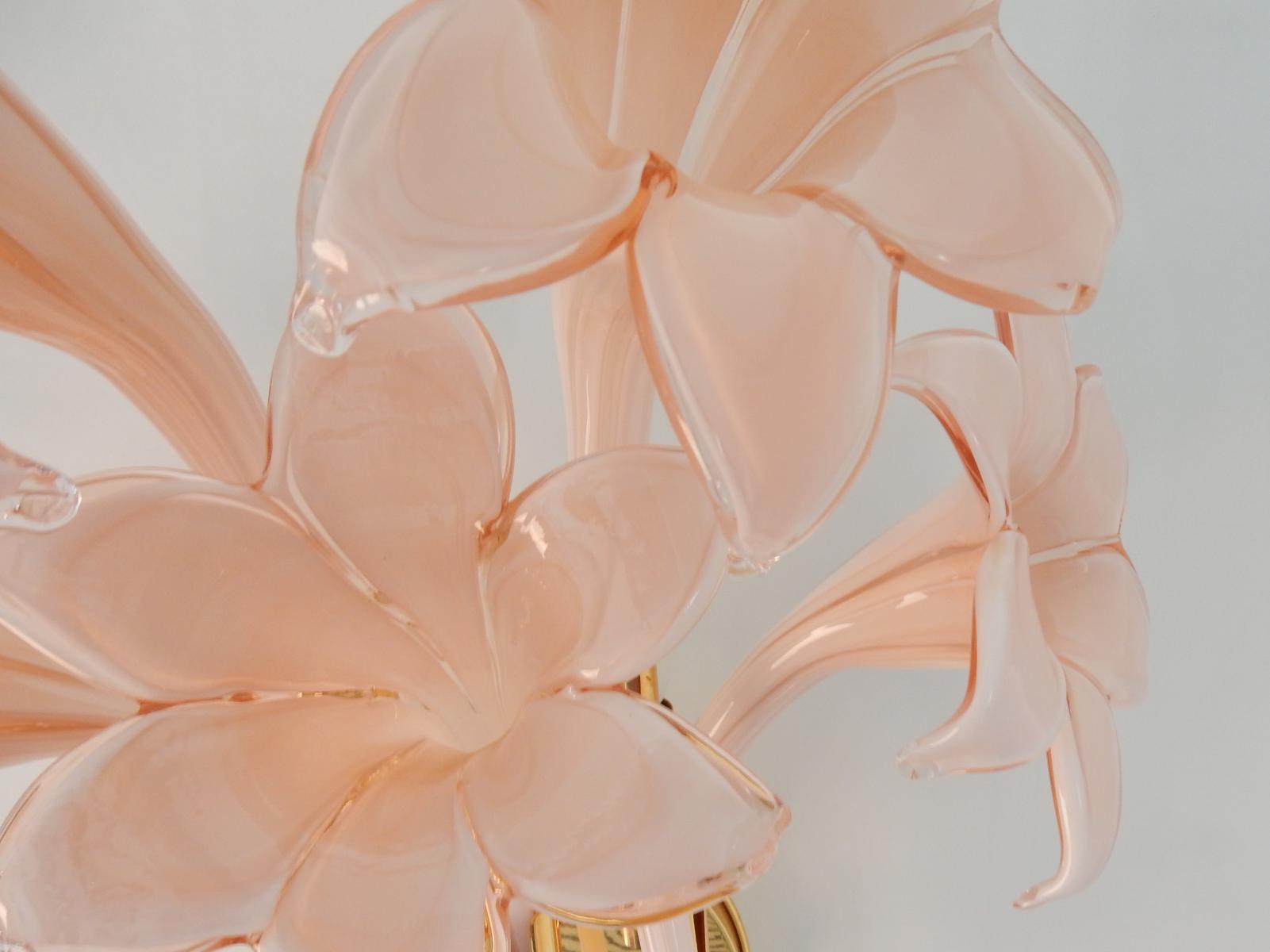 Create a beautiful look with pink flower wall light warisan lighting aloadofball Gallery