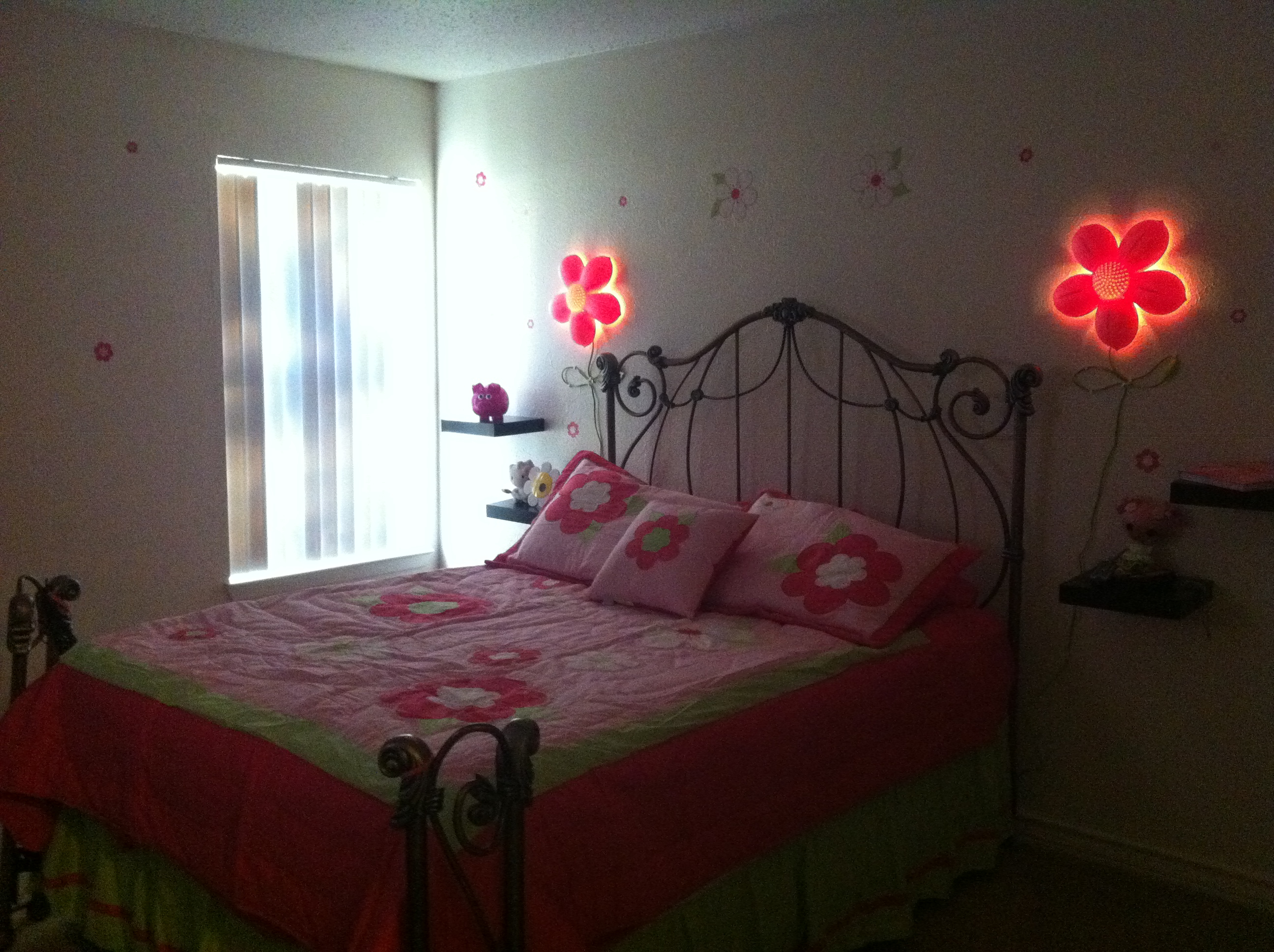 Create A Beautiful Look With Pink Flower Wall Light Warisan Lighting