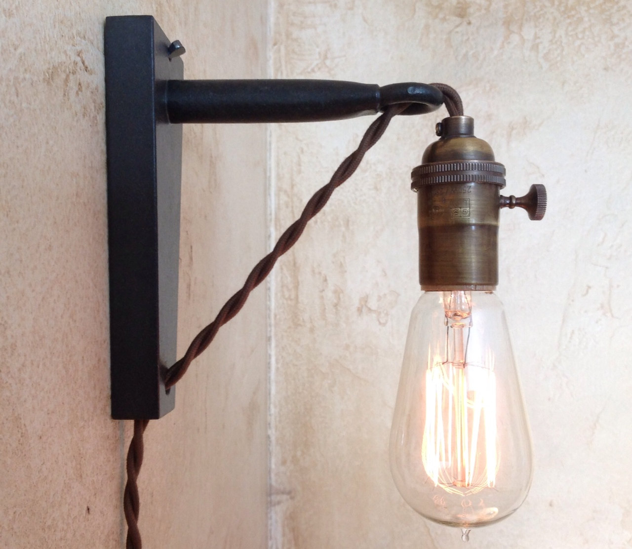 Wall Hanging Lamps plug in wall light fixtures - decorating home with the correct