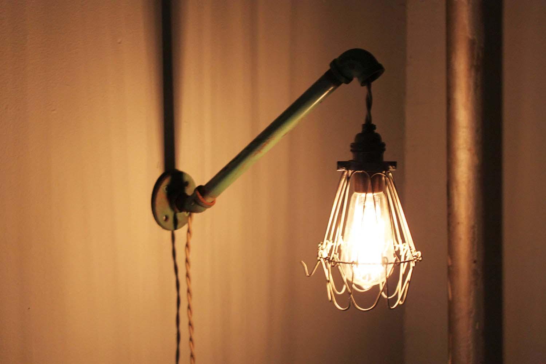 #2 Loft Lamp In Cage