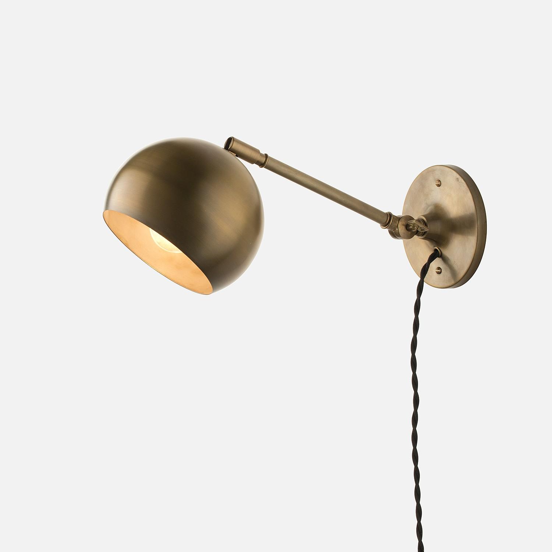 guide to choosing plug in wall lights warisan lighting. Black Bedroom Furniture Sets. Home Design Ideas