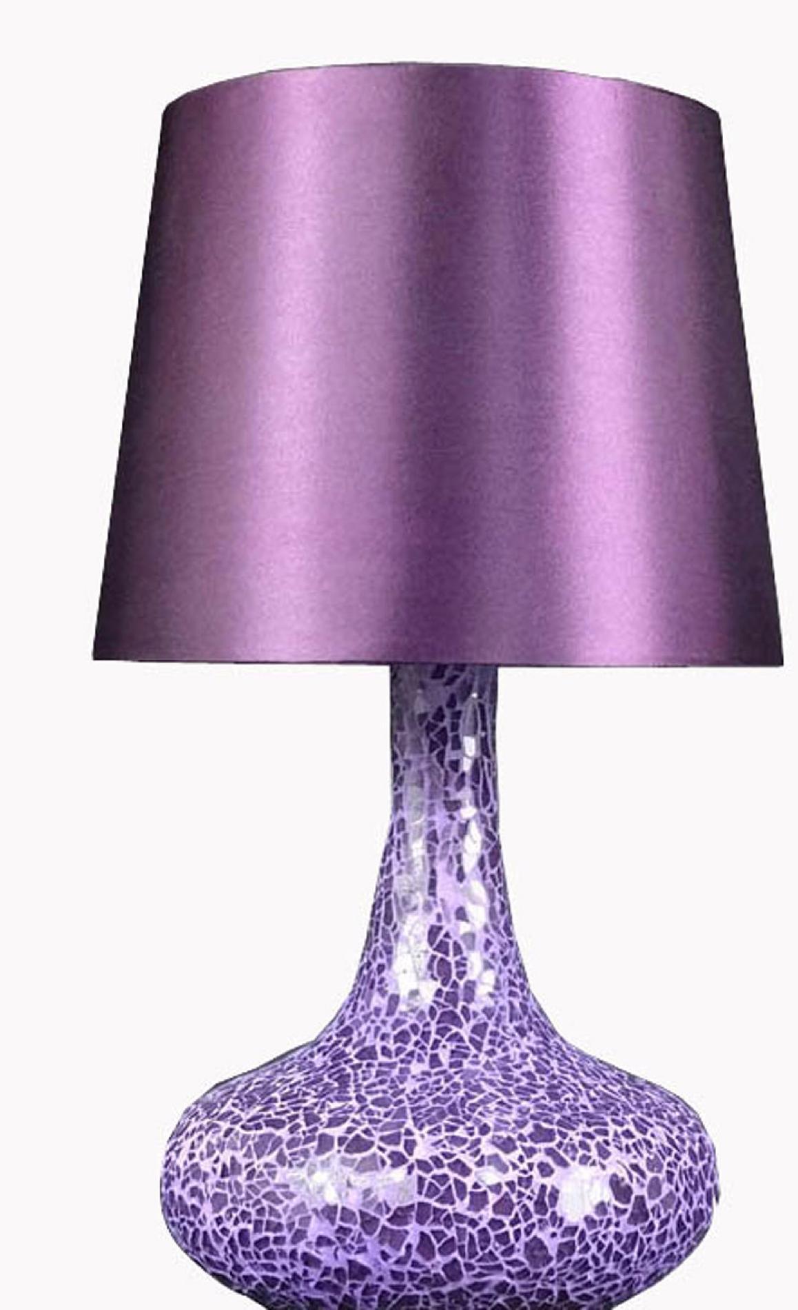 Glass Lamp Shades Ireland Image Of Purple Lamp Shade