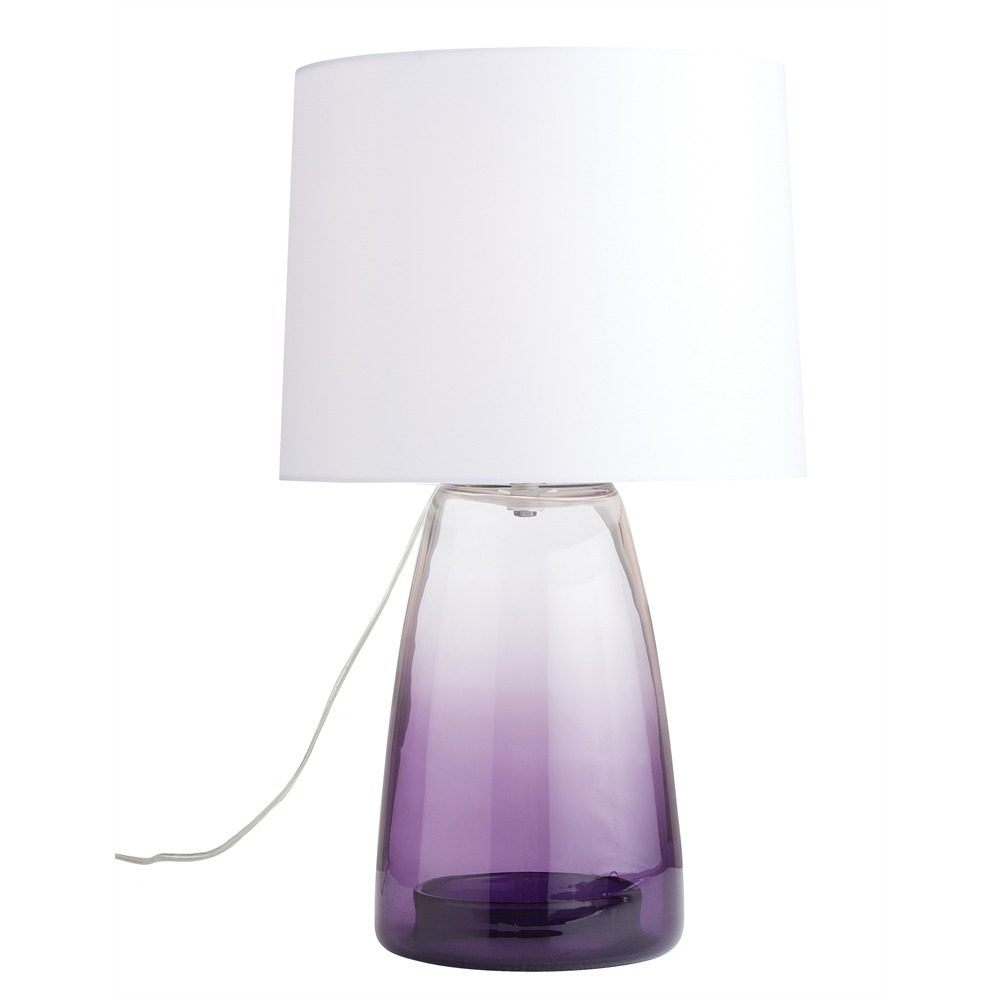 Purple Glass Lamps 25 Tips For Choosing