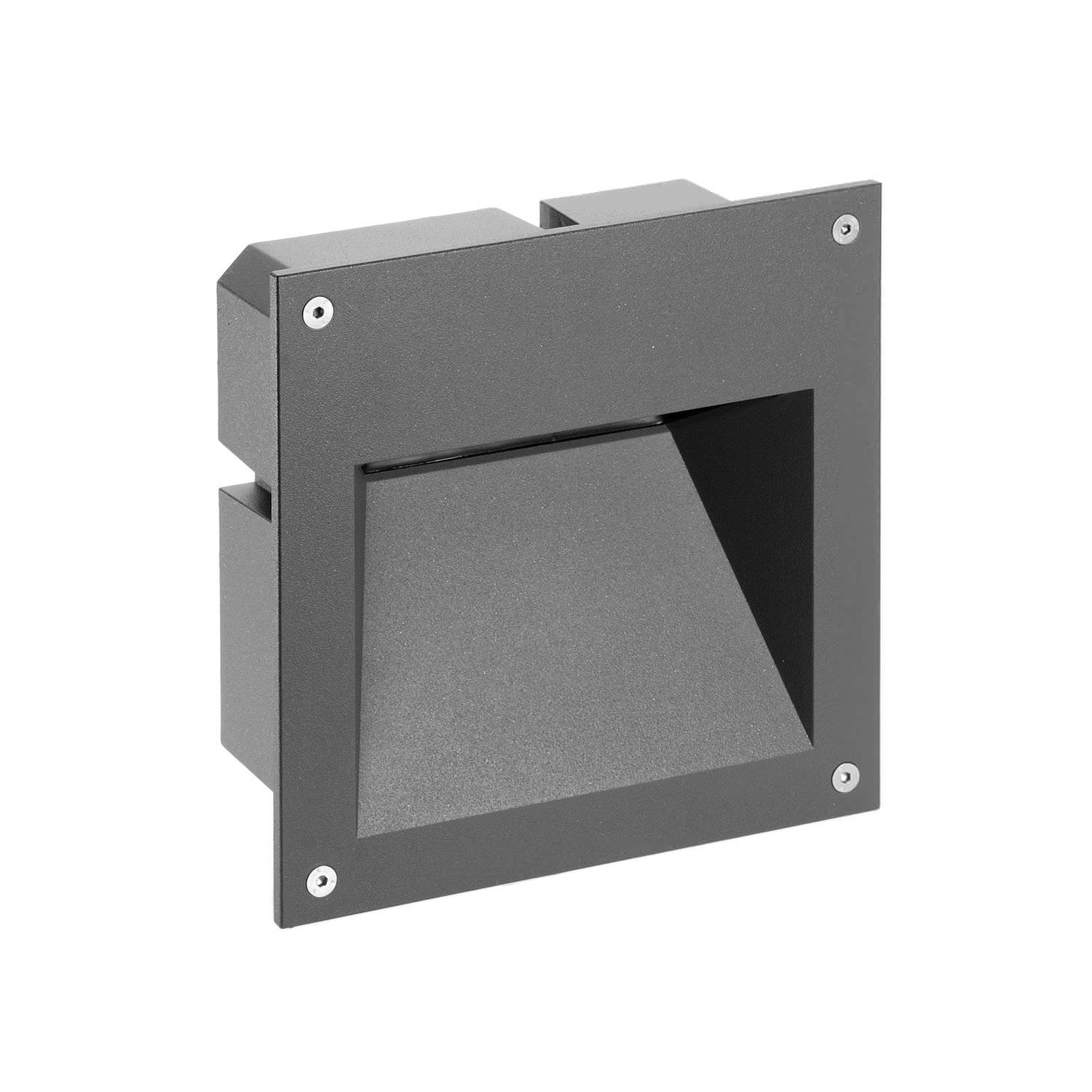 the recessed external wall lights and the best designed