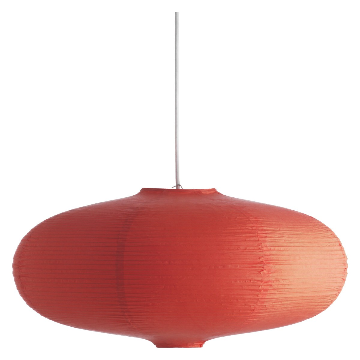 red ceiling light adding elegance and vintage look to your room