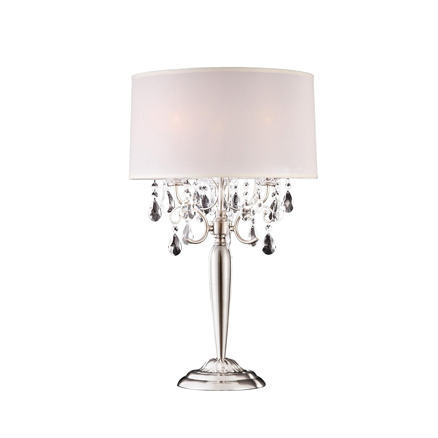 Where to use small crystal table lamps warisan lighting places to use these small crystal table lamps geotapseo Images