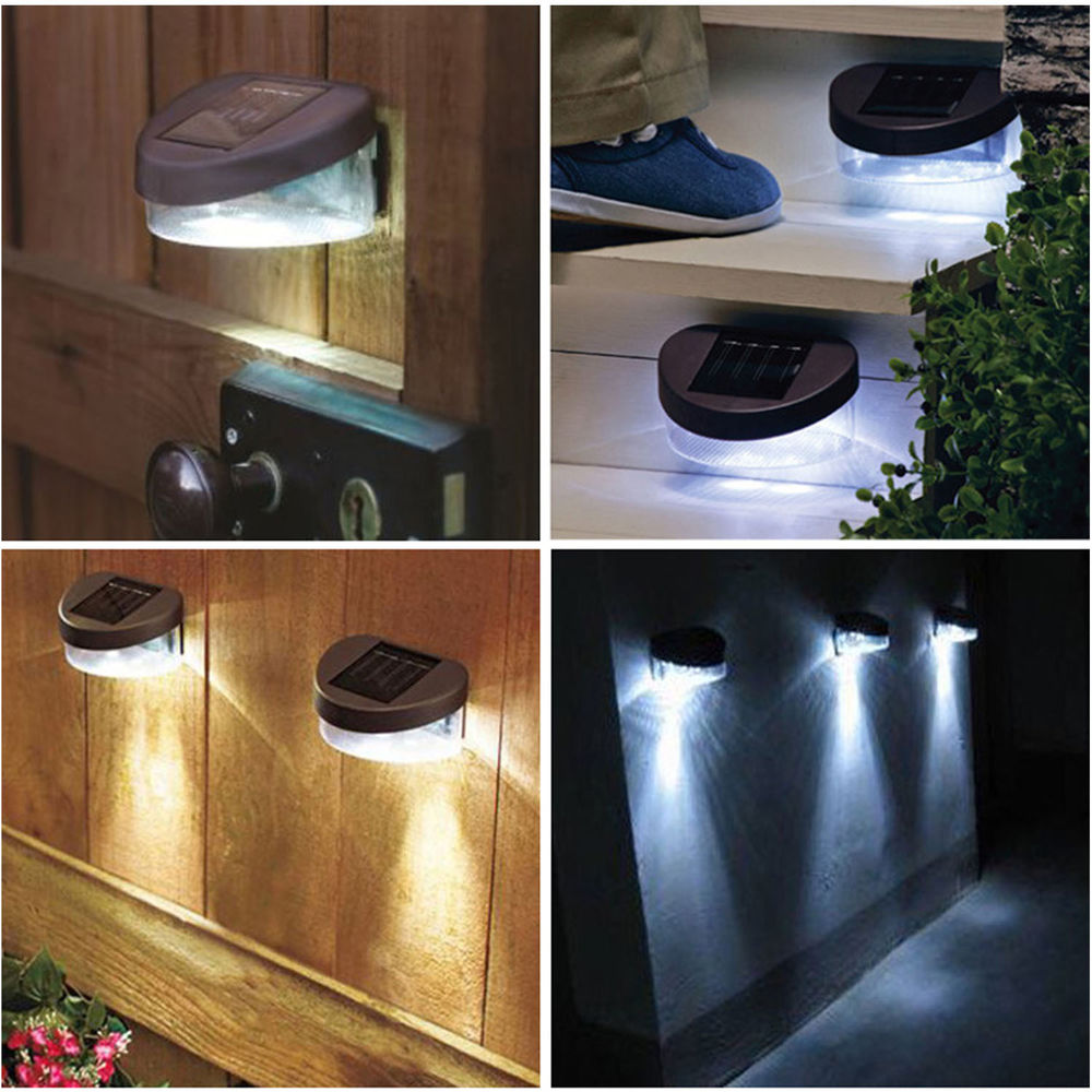Solar Powered Garden Wall Lights Perfect Solutions One