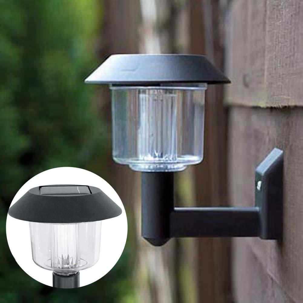 Solar powered garden wall lights - perfect solutions one could ...