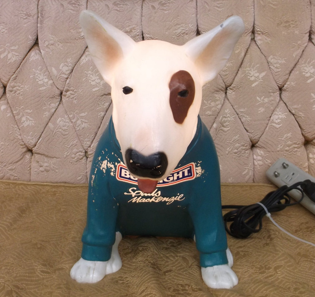 Make Your Home Beautiful With Spuds Mackenzie Lamp
