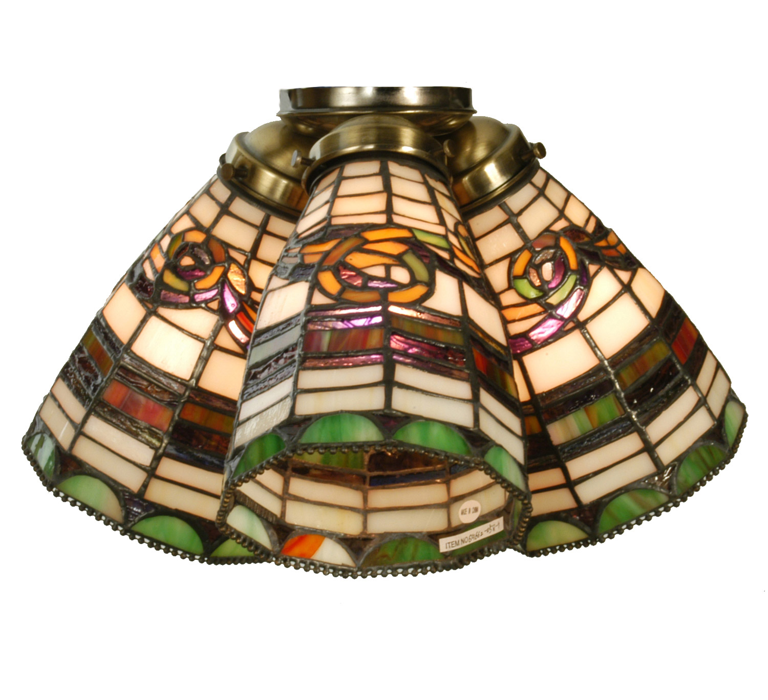 oil shades glass vintage ceilings fan cloche ceiling rubbed products light indoor of outdoor style bronze