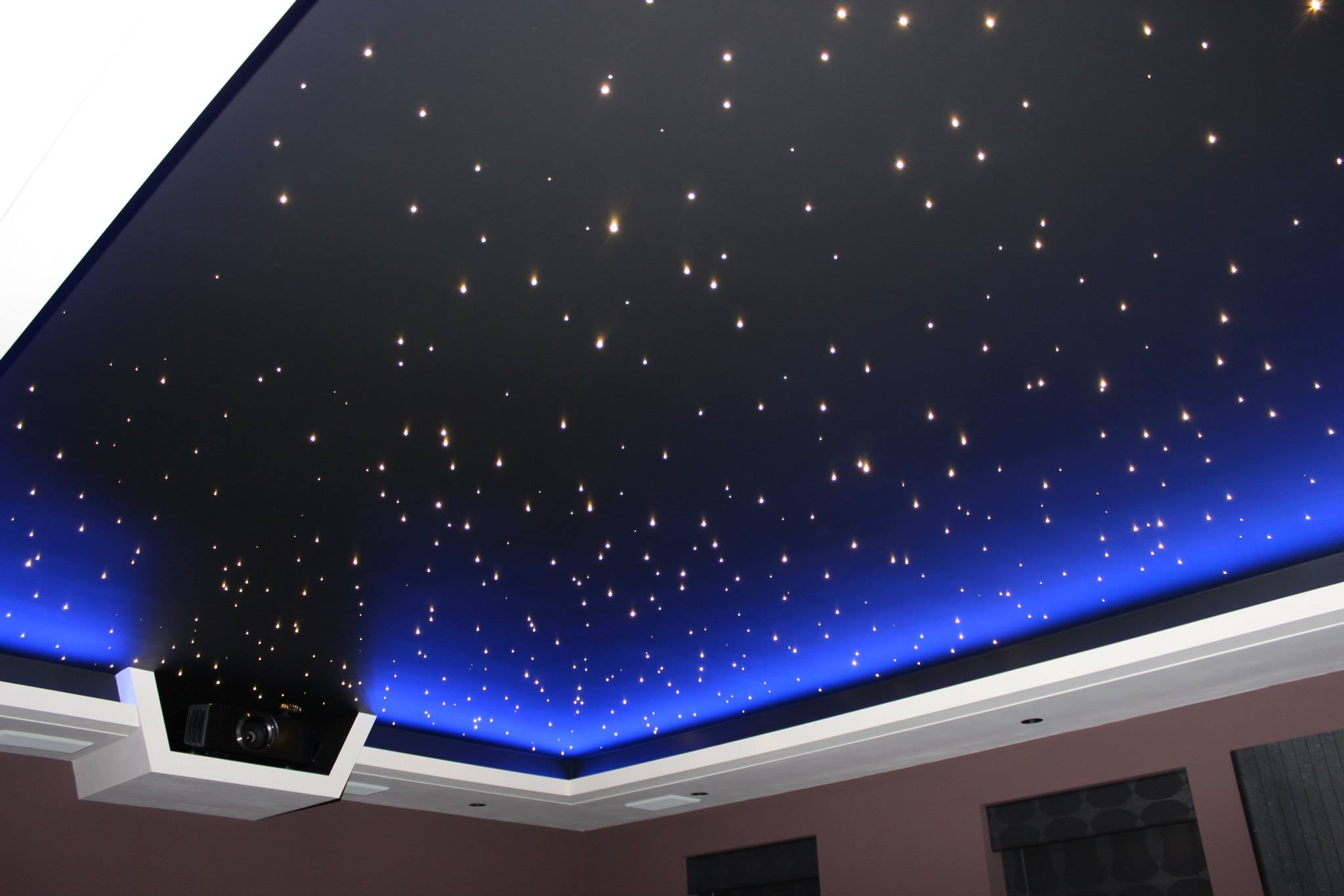 Ceiling Lights That Look Like Stars : Watch night sky in your room with star effect ceiling