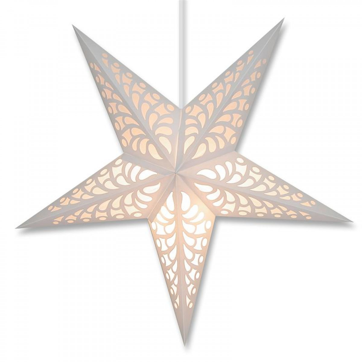 25 amazing star lamps for a fantastic night experience for Paper star lamp