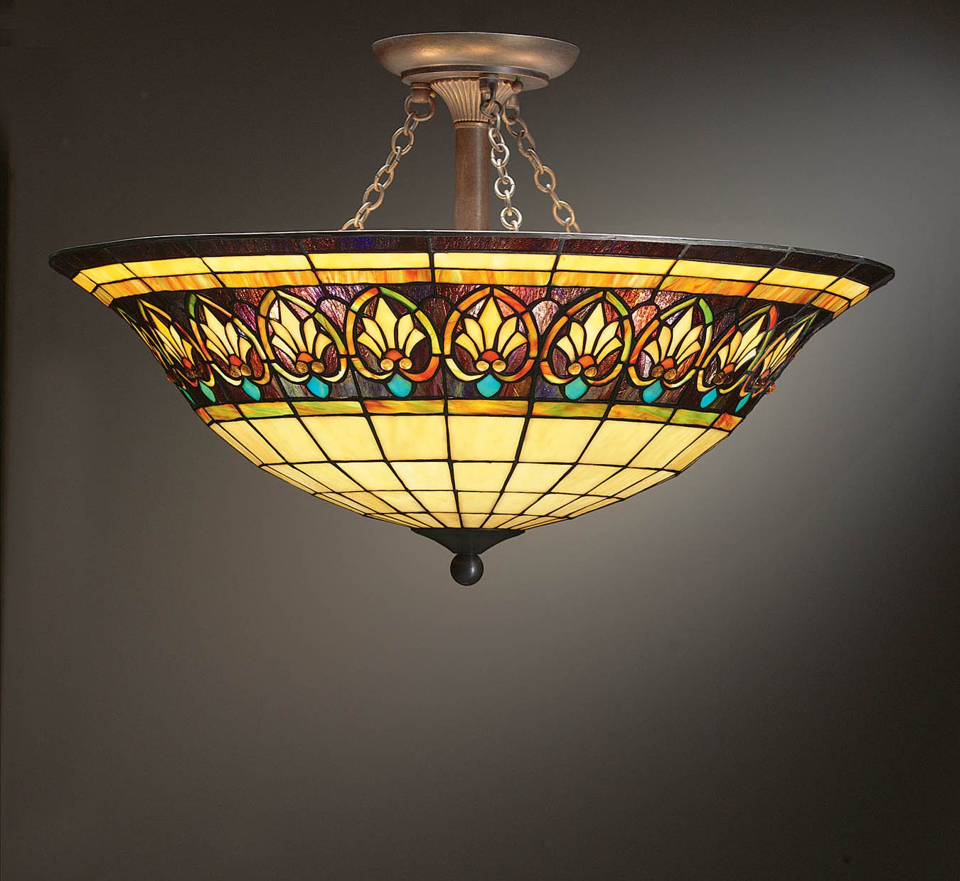 How To Fit Fiffany Ceiling Lights Warisan Lighting