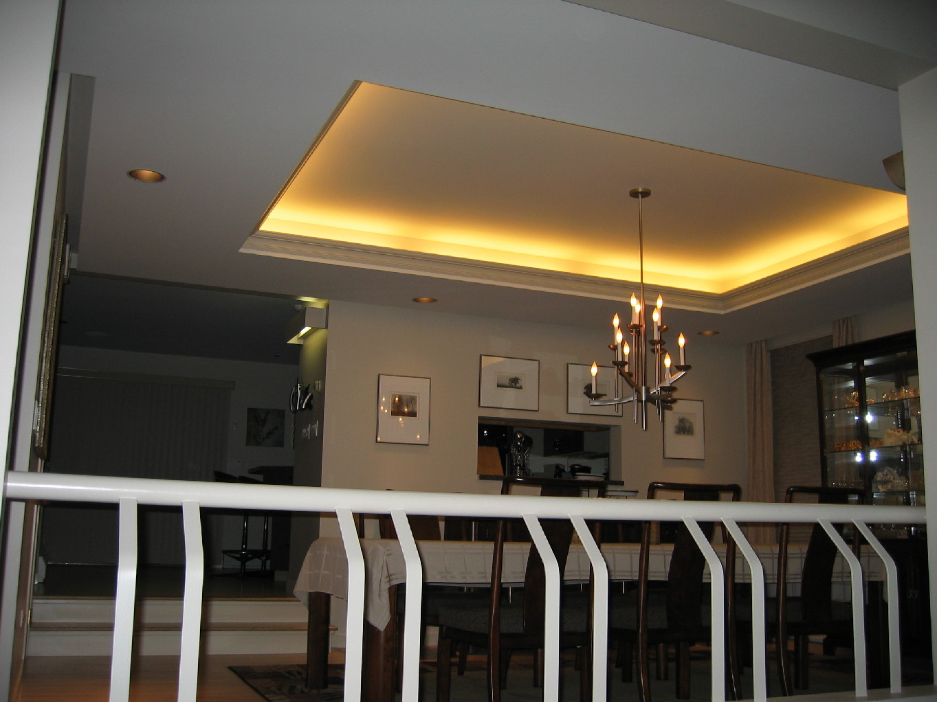 Ceiling Tray Lighting