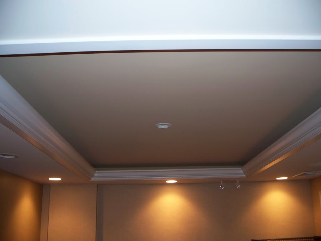 Tray ceiling lights reflect the surface for the perfect look tray ceiling lights ideas mozeypictures Images