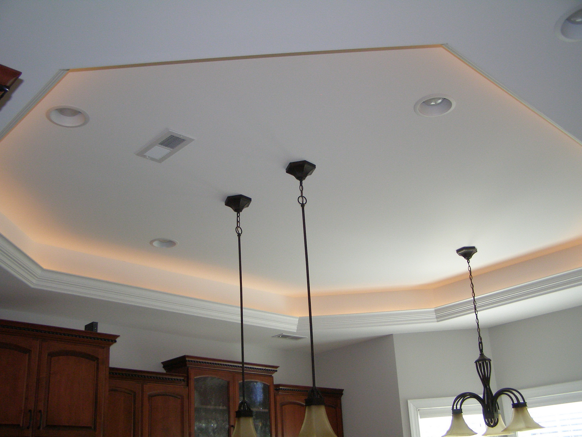 Ceiling Tray Lighting Home Design
