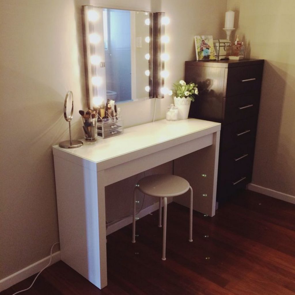 Perfect lighted wall vanity mirror