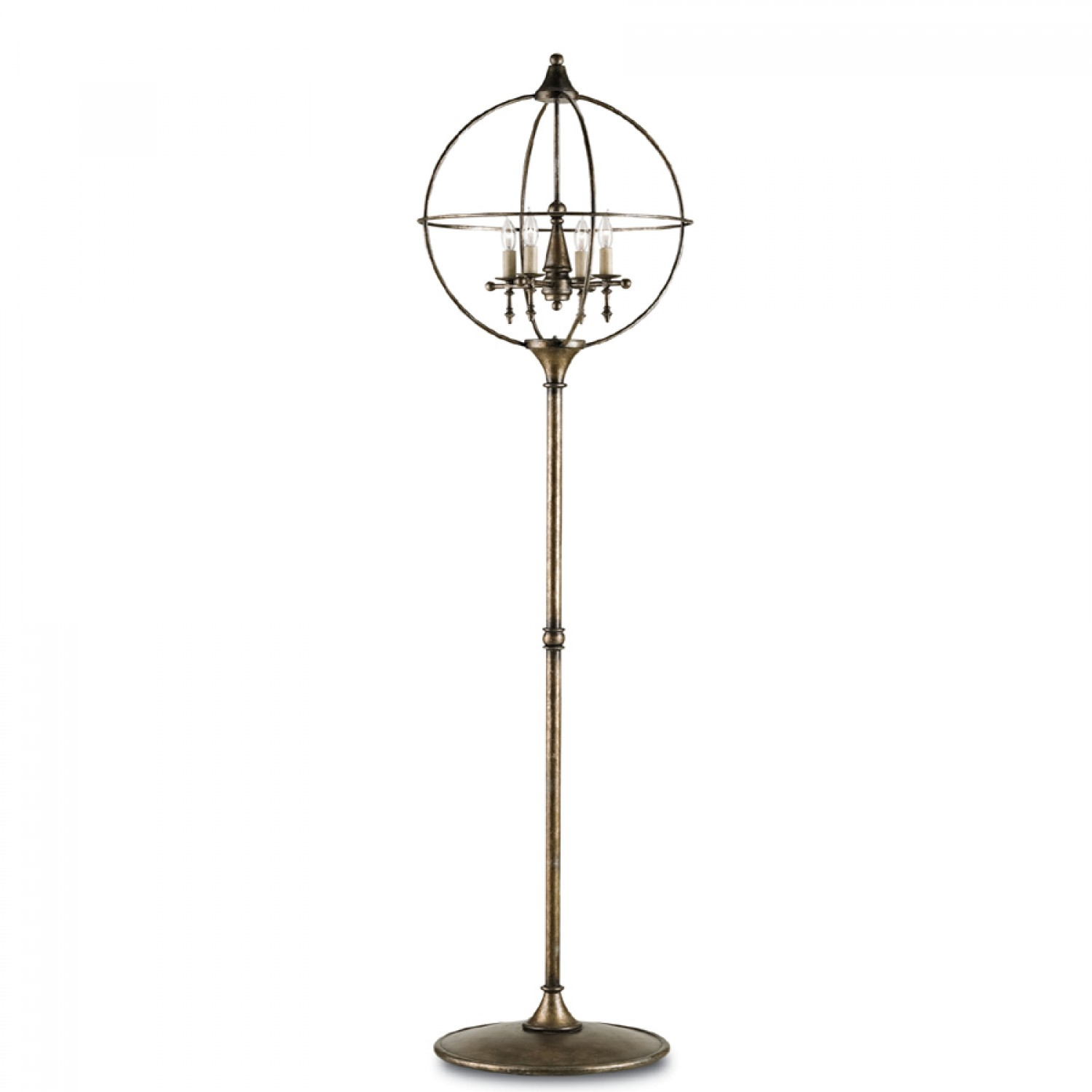 Antique floor lamp with table - 25 Facts About Vintage Floor Lamps You Should To Know