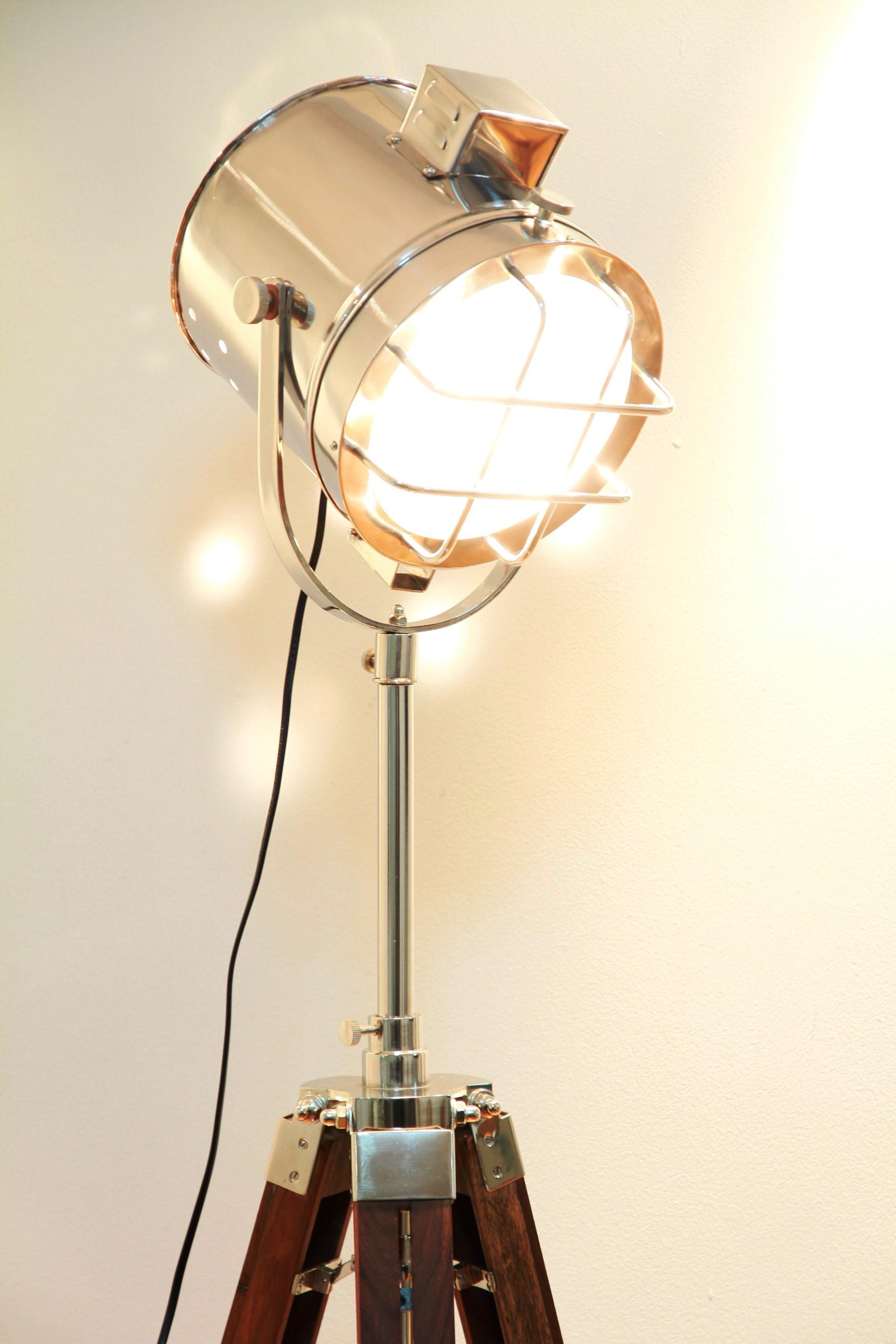 Vintage floor lamps - Source Of Purification Vintage Industrial Floor Lamps