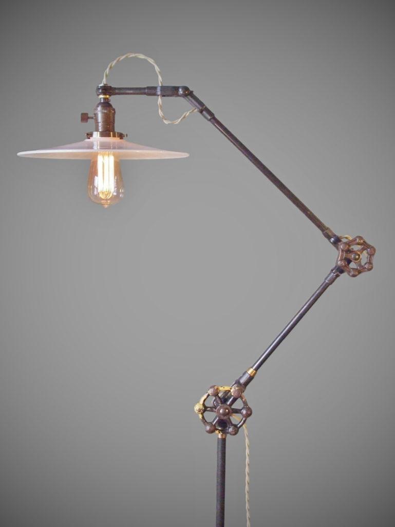 25 benefits of using vintage industrial floor lamp for Retro floor lamp adelaide