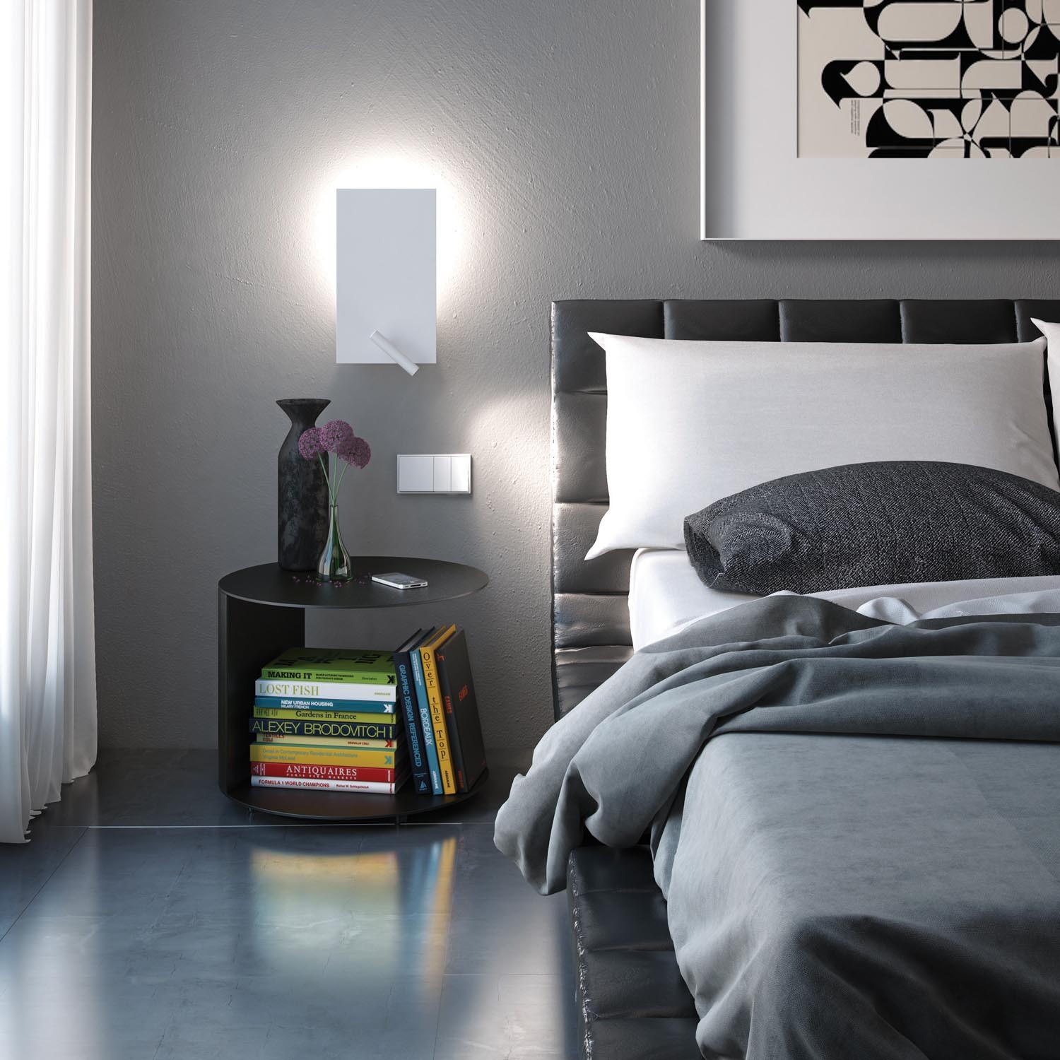 Wall bedside lights - ideal light for your bedroom comfort Warisan Lighting