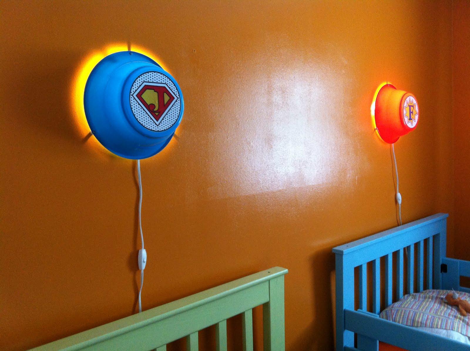 Kids bedroom ceiling decoration - The Dream Salts Night Wall Light