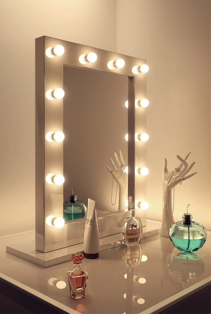 10 Reasons To Buy Wall Makeup Mirror With Lights Warisan