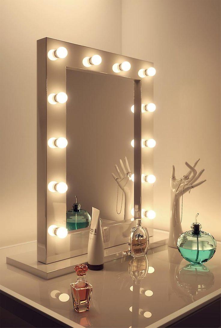 10 reasons to buy Wall makeup mirror with lights | Warisan ...