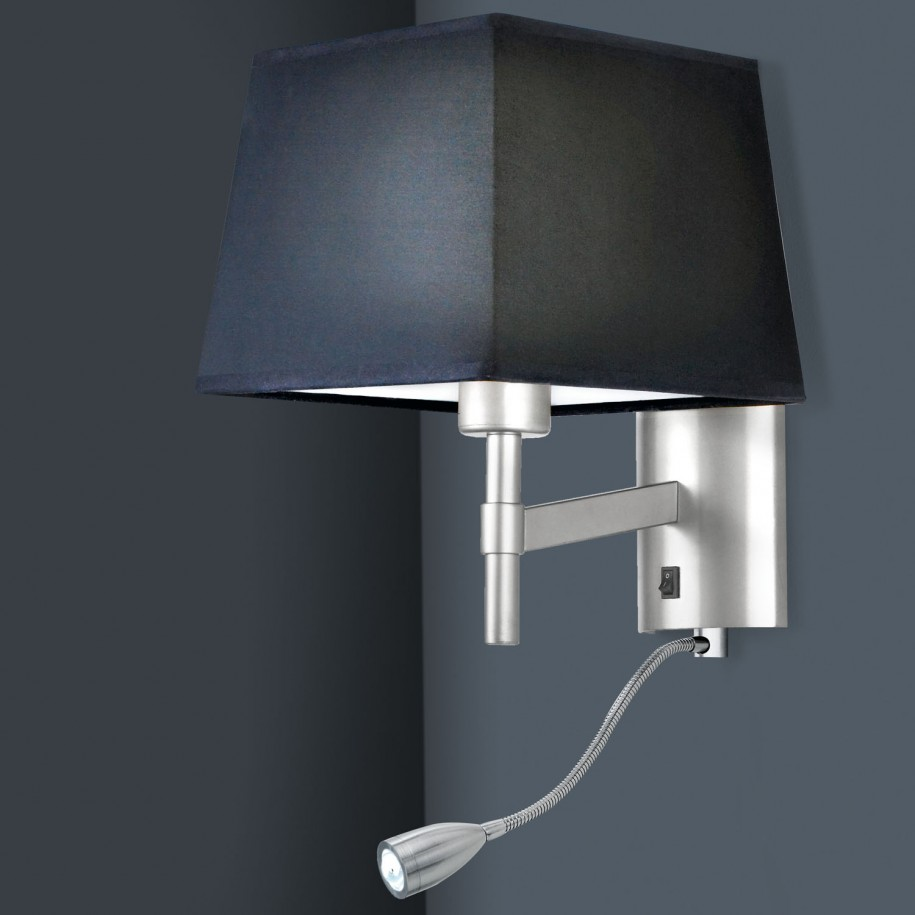 He importance of a good wall mount reading lamp warisan for Wall light with reading light
