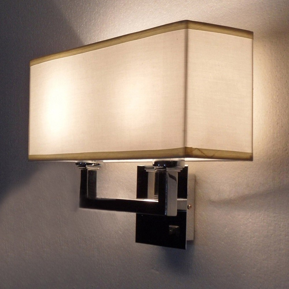 Bedside lamps wall mounted - Create A Tranquil Retreat With Wall Mounted Bed Lamps