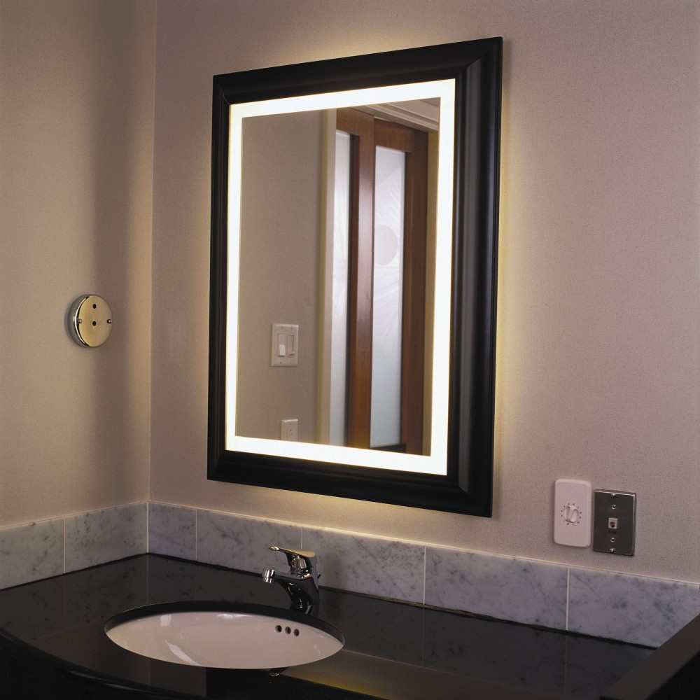 Wall Mounted Disco Lights : See the Difference with a Wall Mounted Light up Mirror Warisan Lighting