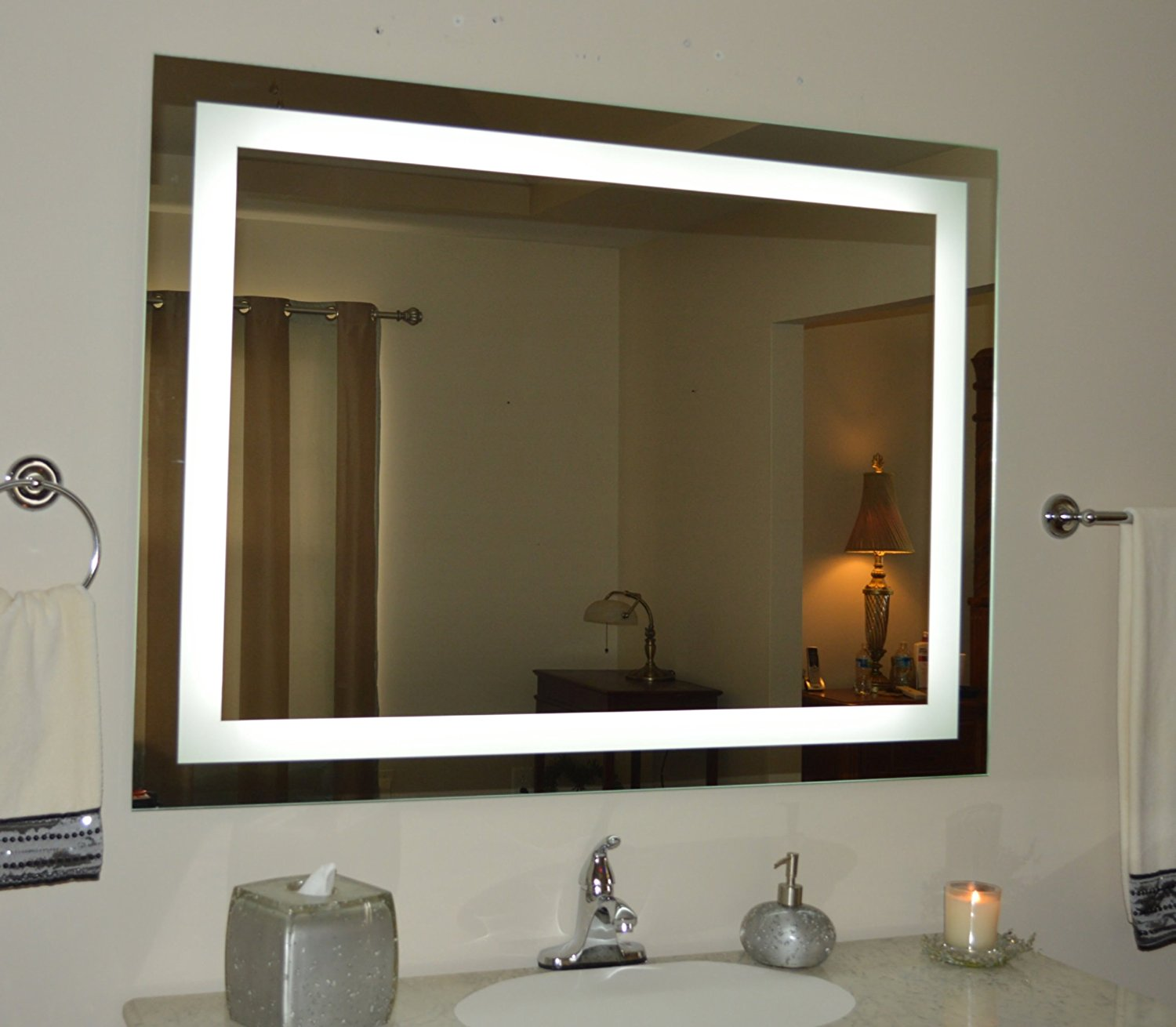 bathroom mirror with lights. the advantage of wall mounted light up mirrors for you and your guests bathroom mirror with lights