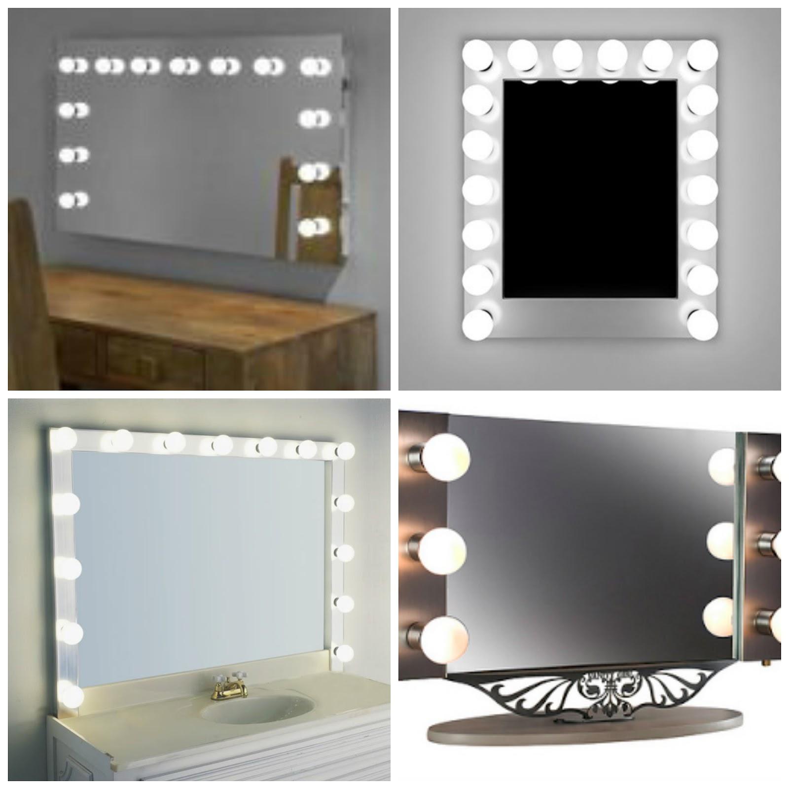 Wall Mounted Makeup Mirror With Lighted Canada Saubhaya Makeup