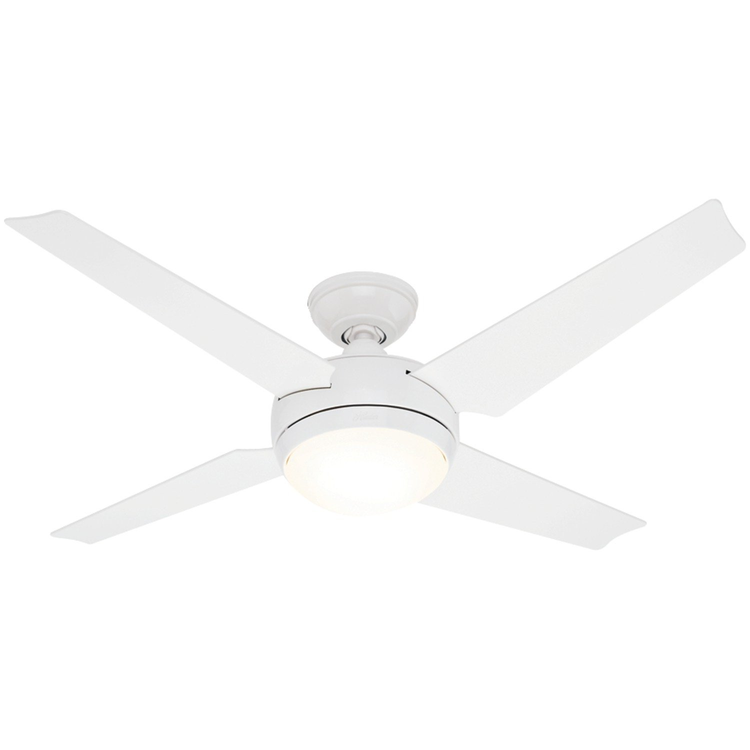 white fan with light