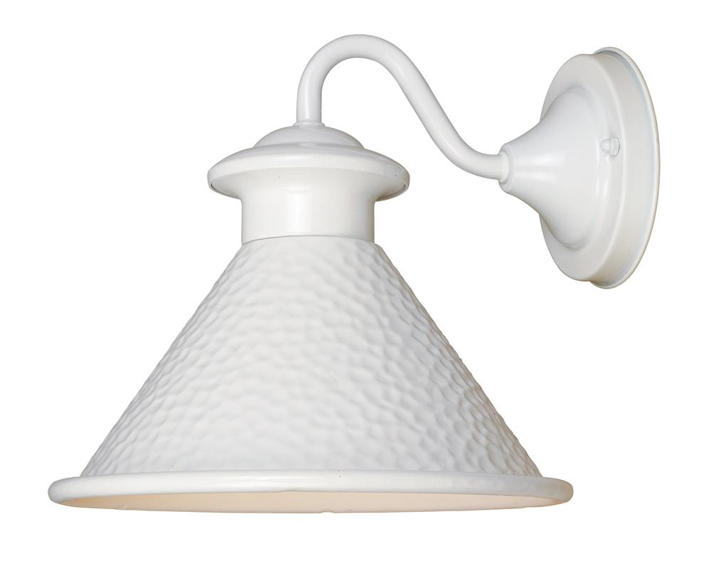 White Exterior Wall Lights