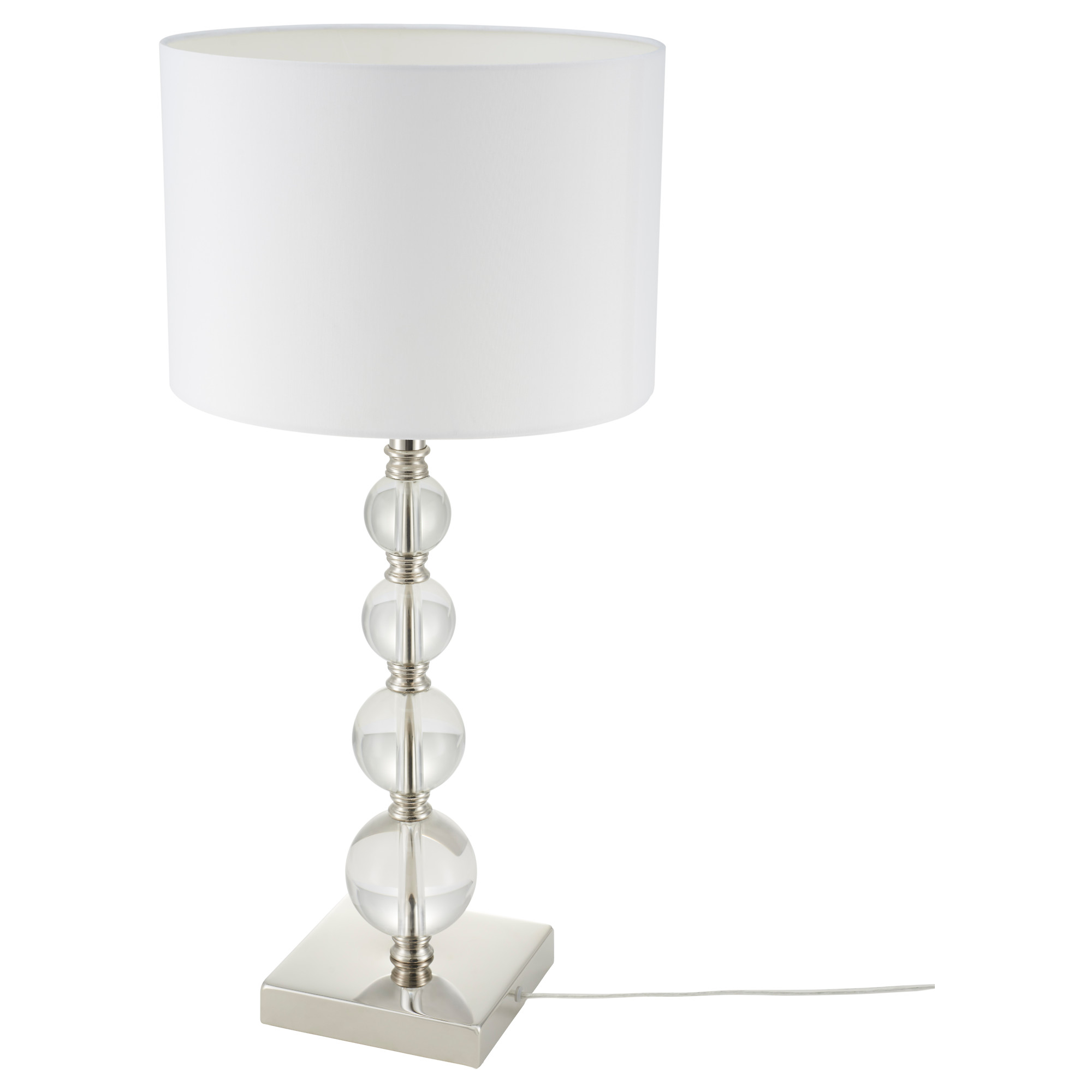 White Lamp Table