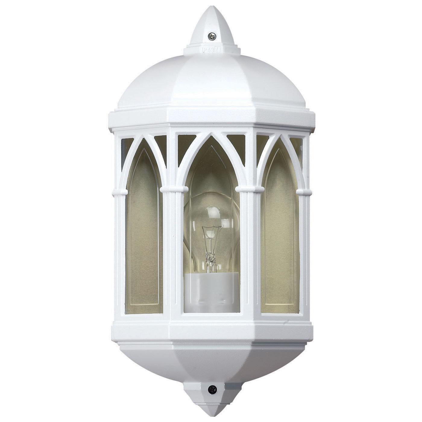 White Outdoor Lighting Fixtures