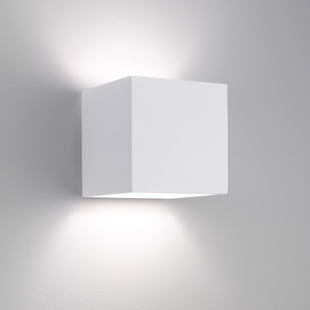 White wall lights