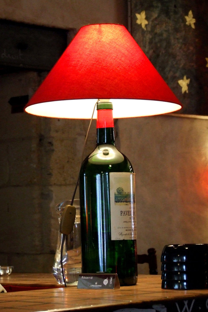 Discovering how to make a wine bottle lamp | Warisan Lighting