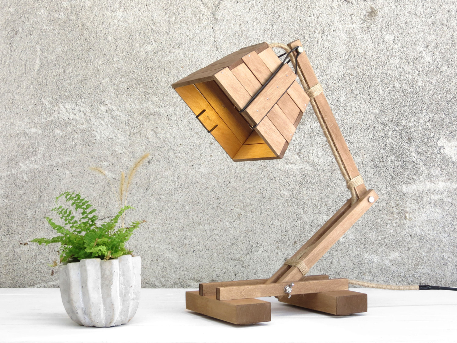 Purchase Unique Wood Desk Lamp For Your Study Room | Warisan Lighting